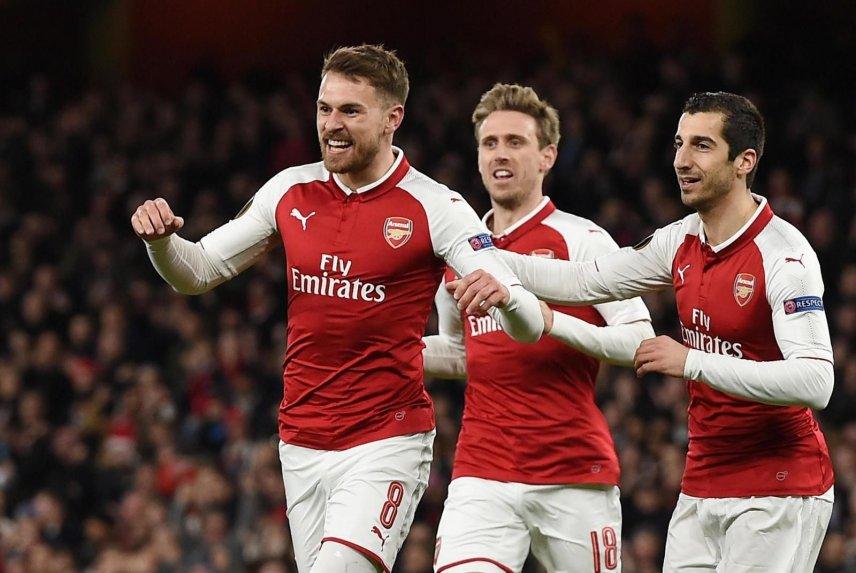 La escuadra del Arsenal goleó al Rennes en el juego de vuelta de los octavos de final de la Europa League y avanzó a la siguiente fase.