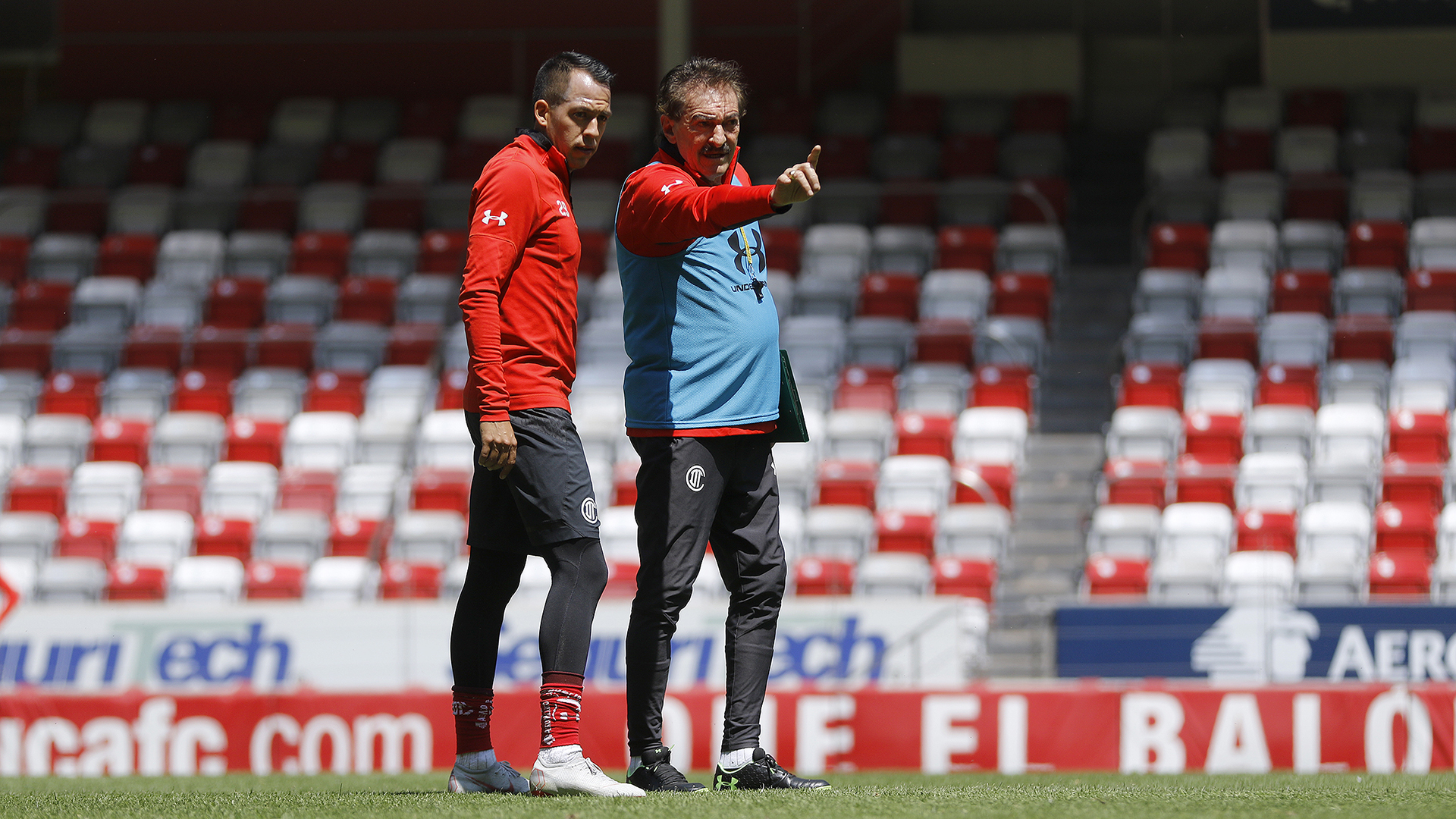 El estratega de los Diablos Rojos del Toluca, Ricardo La Volpe aseguró que la dinámica y la contundencia serán parte de la escuadra roja.